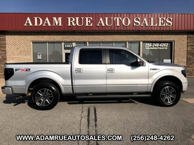 """2010 Ford F-150 2WD SuperCrew 139"""" FX2"""