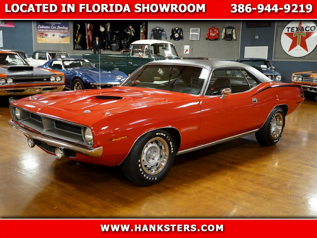 1970 Plymouth Cuda Numbers Matching