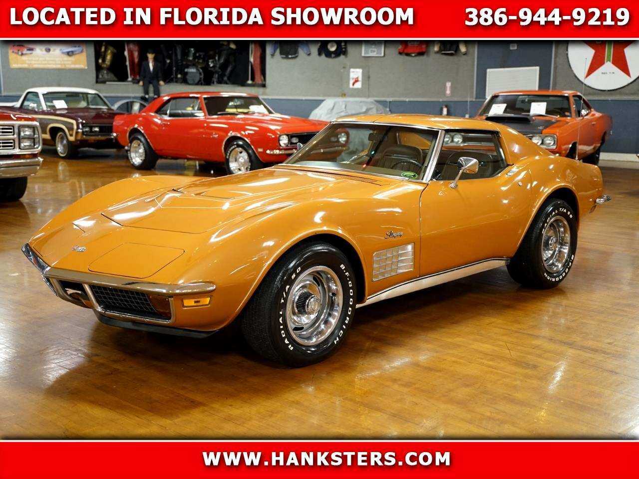 1971 Chevrolet Corvette Numbers Matching