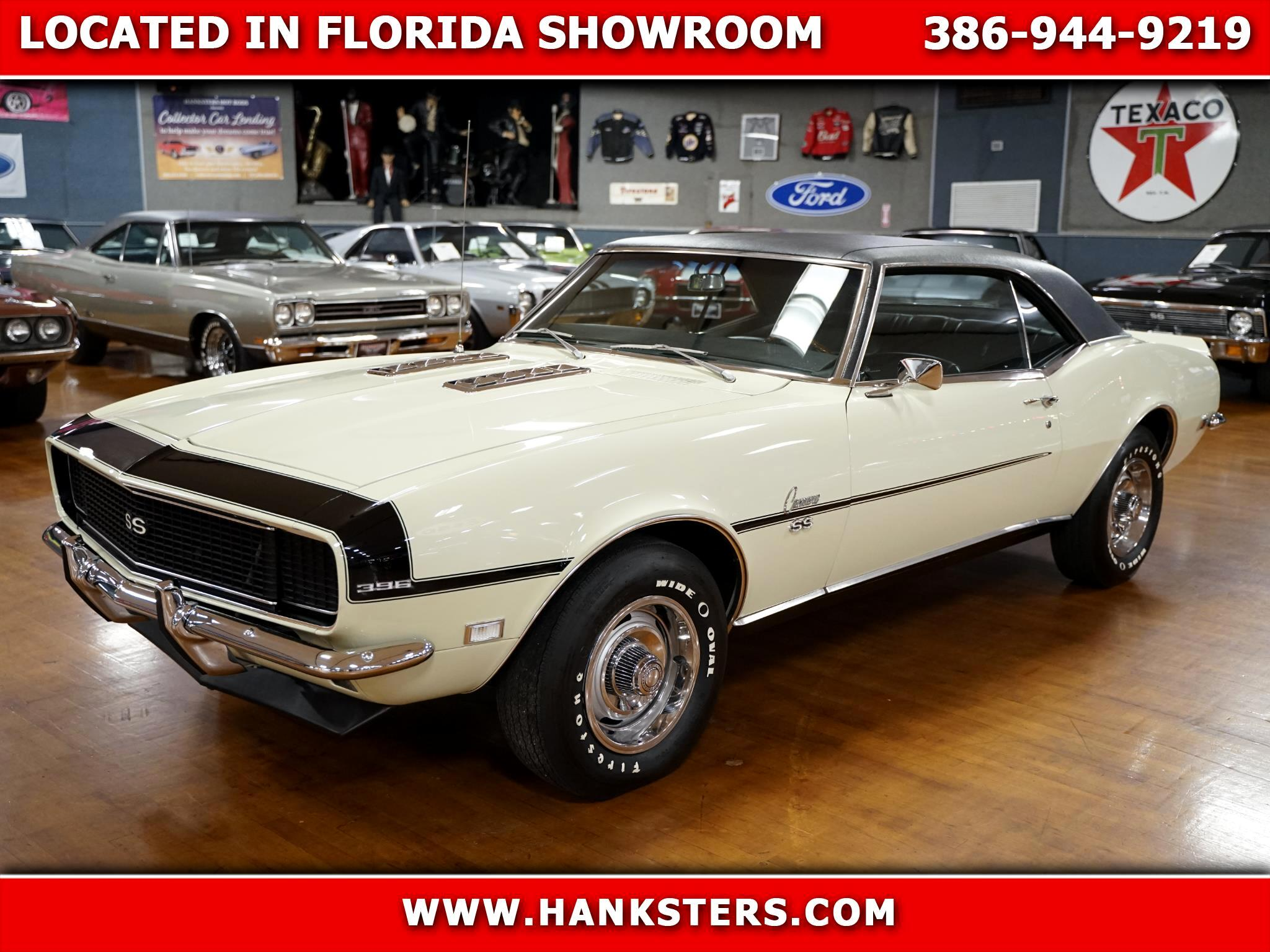 1968 Chevrolet Camaro RS/SS Numbers Matching