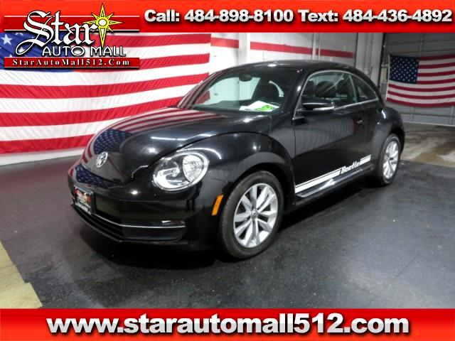 used 2014 volkswagen beetle tdi for sale in bethlehem pa 18017 star auto mall 512. Black Bedroom Furniture Sets. Home Design Ideas
