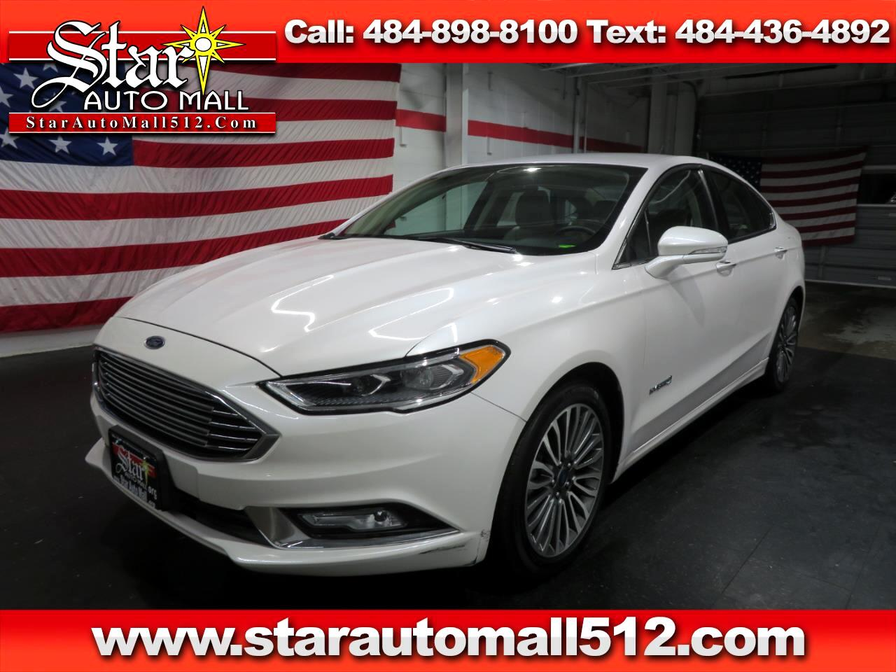 Used 2017 Ford Fusion Titanium For Sale In Bethlehem Pa