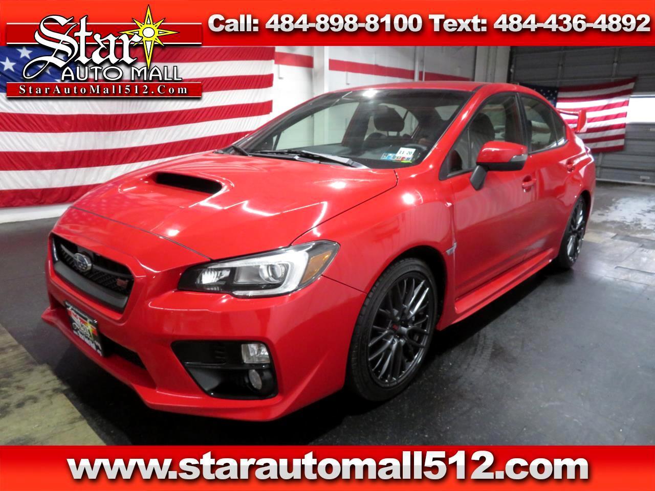 2016 Subaru Impreza WRX STI