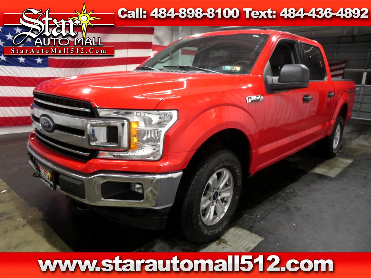 "2018 Ford F-150 4WD SuperCab 145"" XLT"