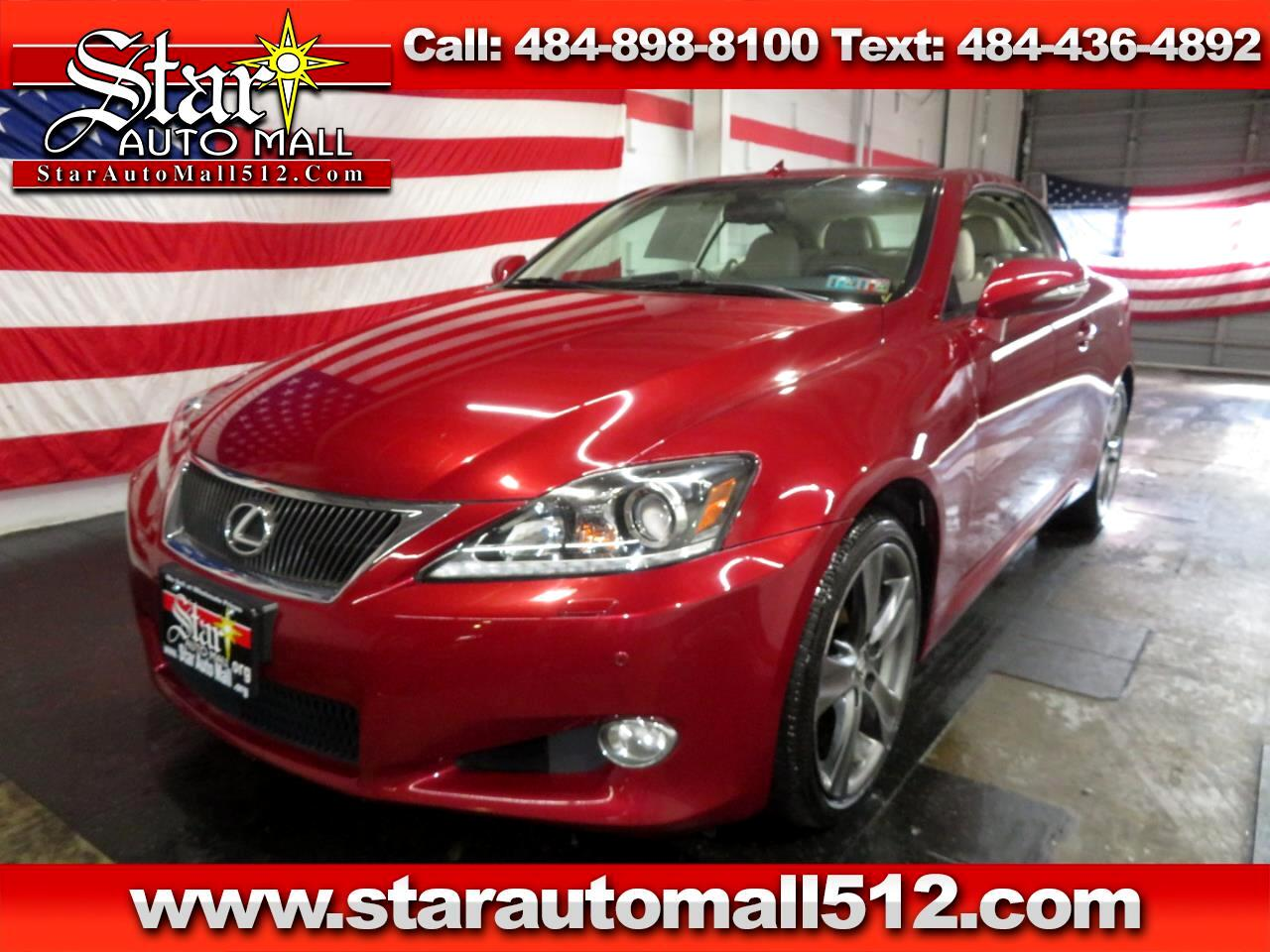2012 Lexus IS 350C 2dr Conv