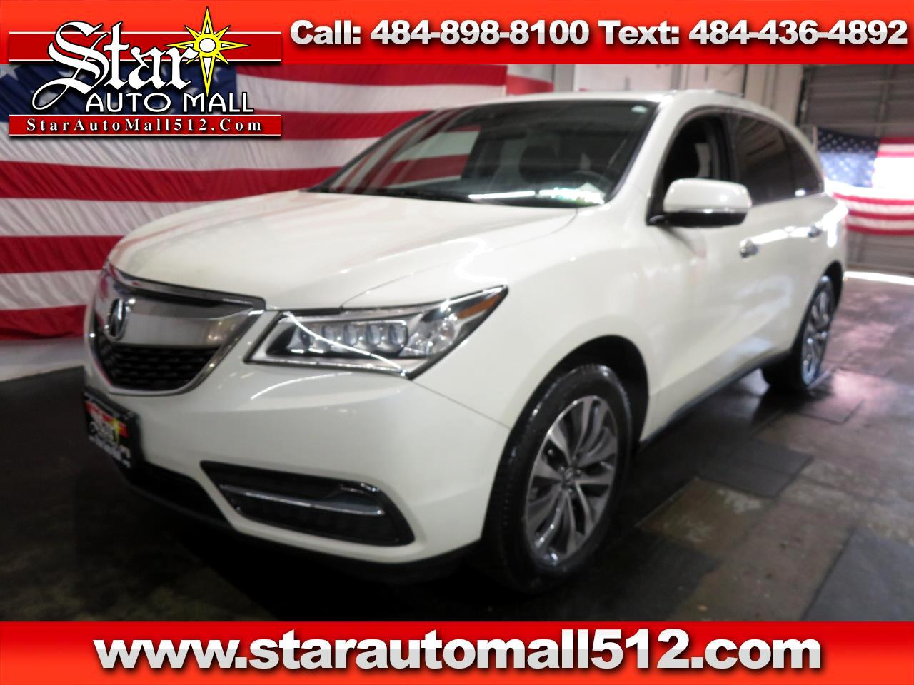 2016 Acura MDX Tech Package