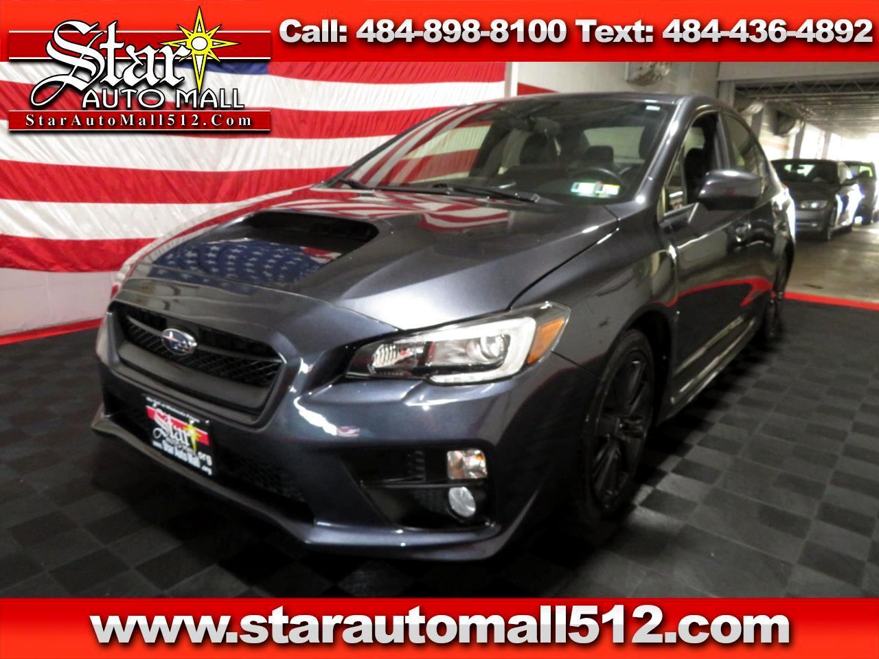 2015 Subaru WRX 4dr Sdn CVT Limited