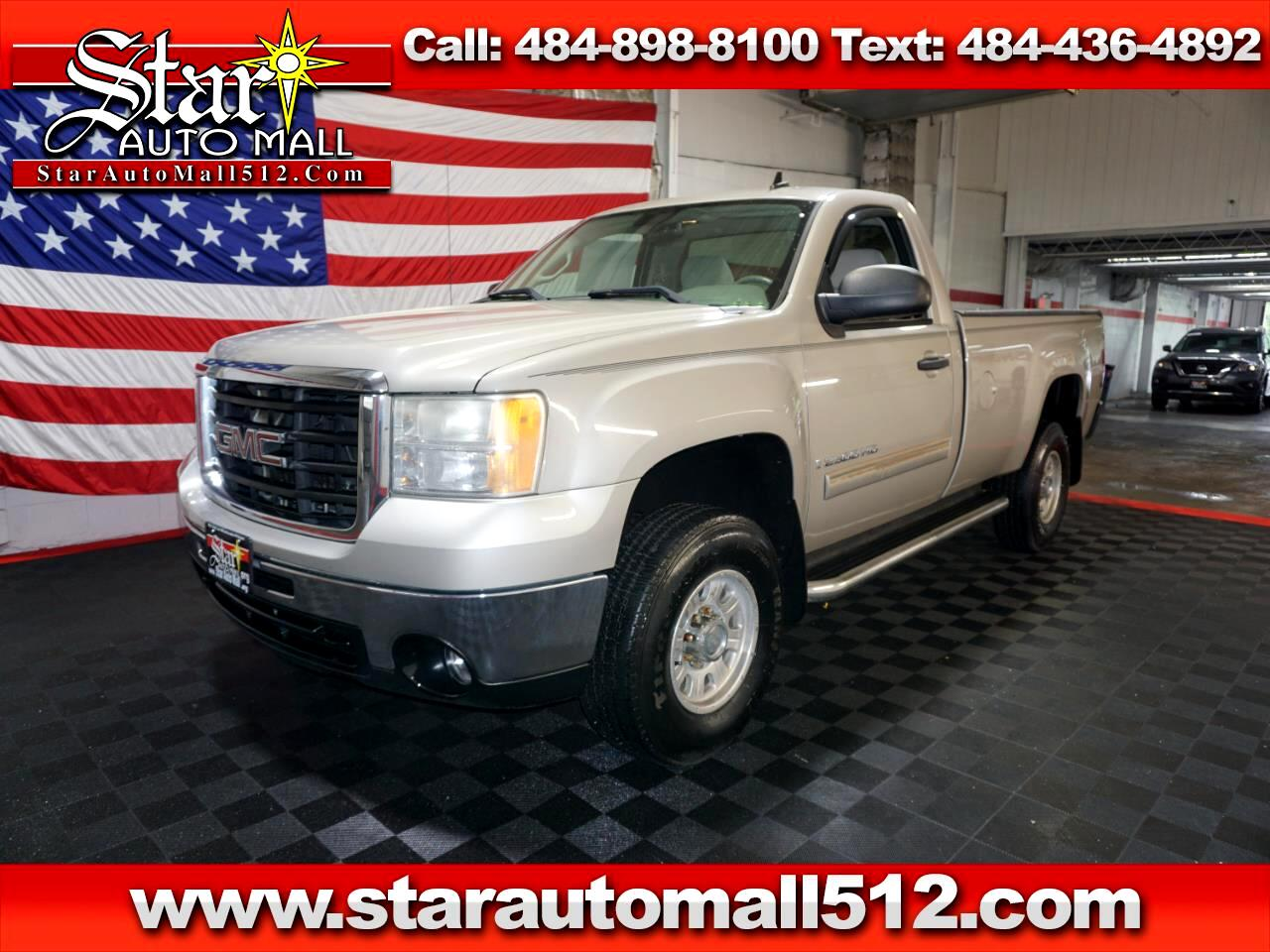 2007 Gmc Sierra For Sale >> Used 2007 Gmc Sierra 2500hd 2wd Reg Cab 133 Sle1 For Sale