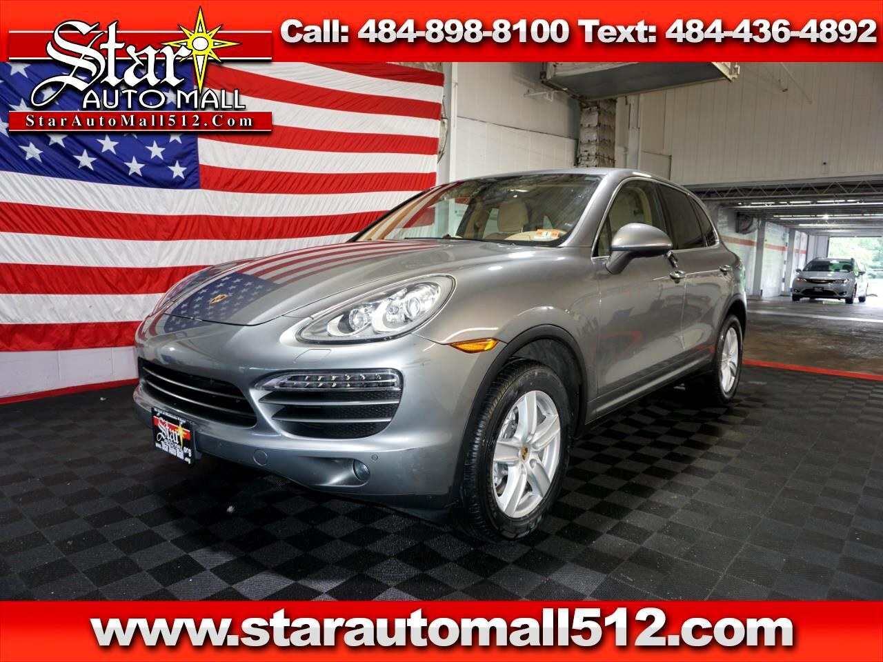 2013 Porsche Cayenne AWD 4dr Manual