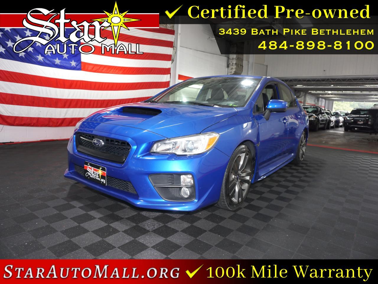 Subaru Warranty 2017 >> Used 2017 Subaru Wrx Premium For Sale In Bethlehem Pa 18017