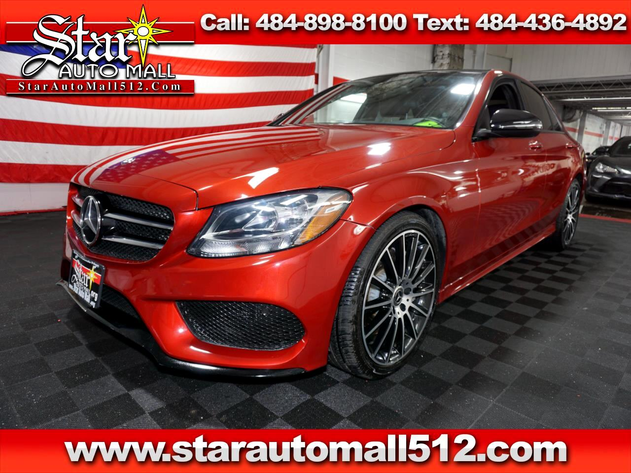 2017 Mercedes-Benz C300 AMG SPORT PACKAGE