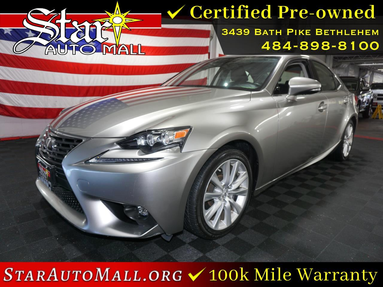 Lexus IS 300 4dr Sdn AWD 2016