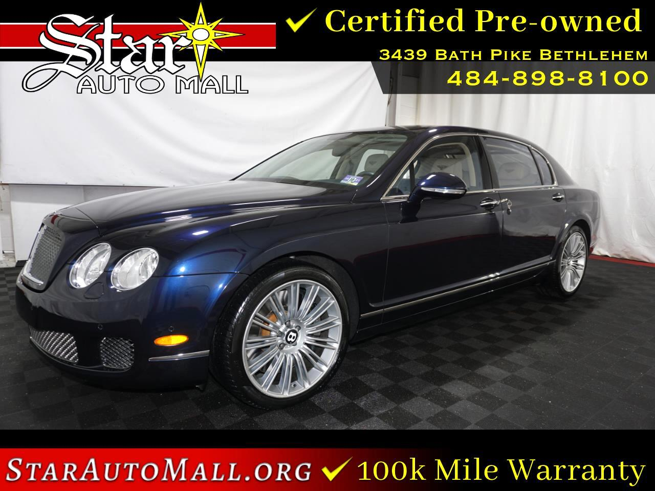 2010 Bentley Continental Flying Spur v12