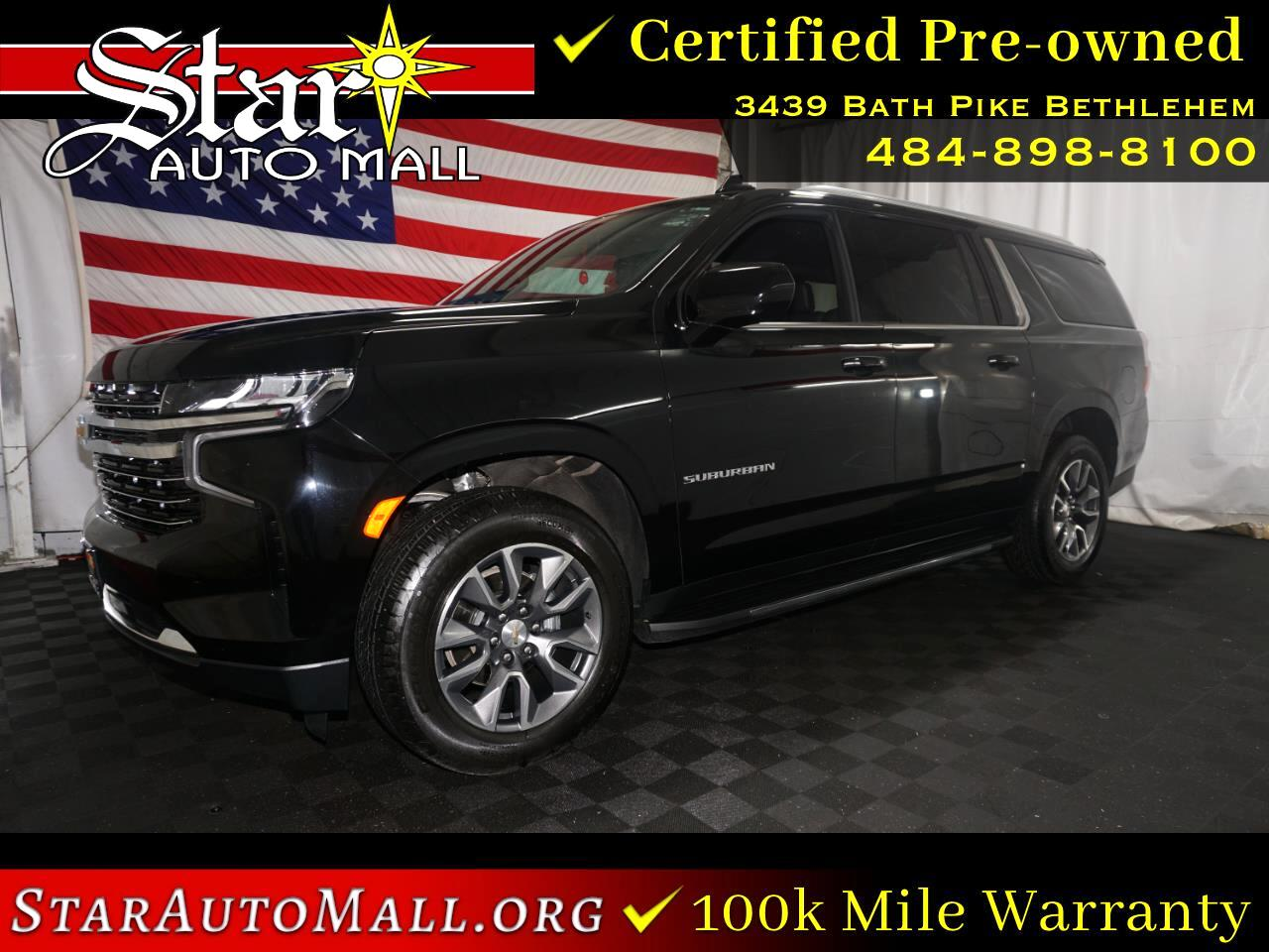 Chevrolet Suburban 4WD 4dr LT 2021