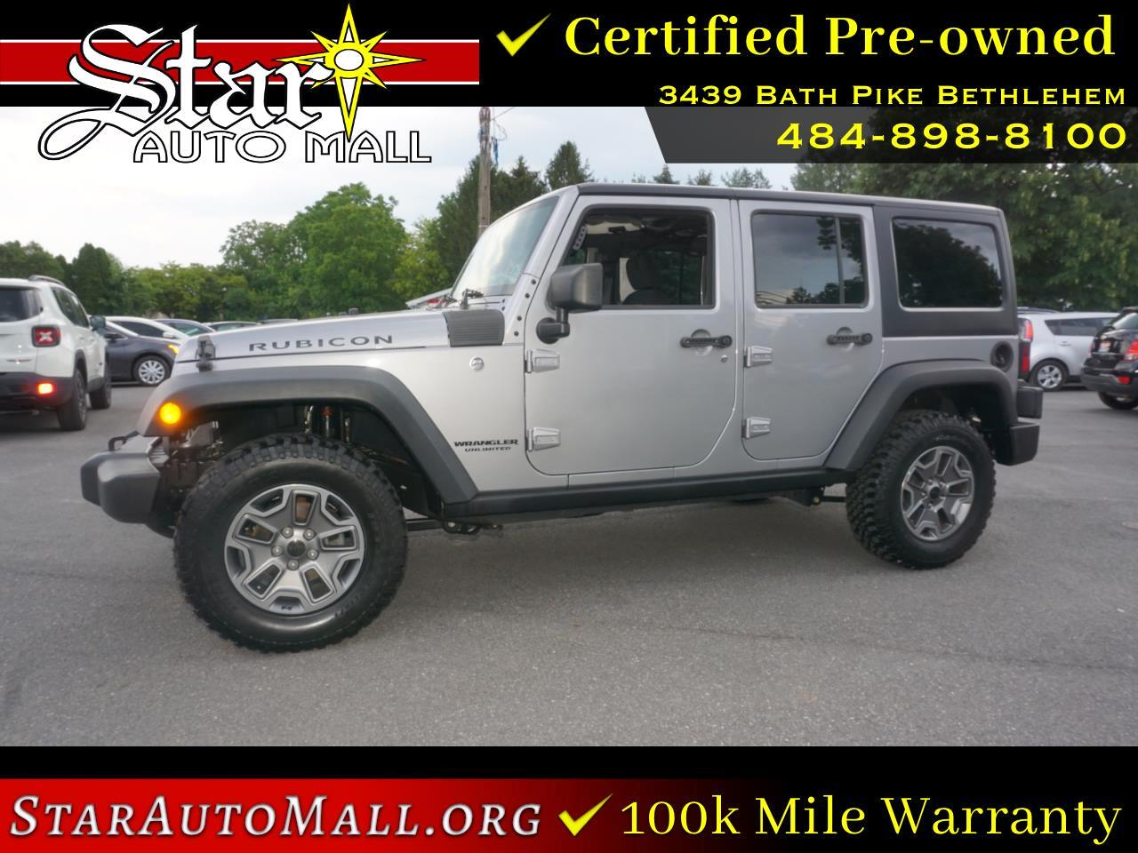 Jeep Wrangler Unlimited 4WD 4dr Rubicon 2017