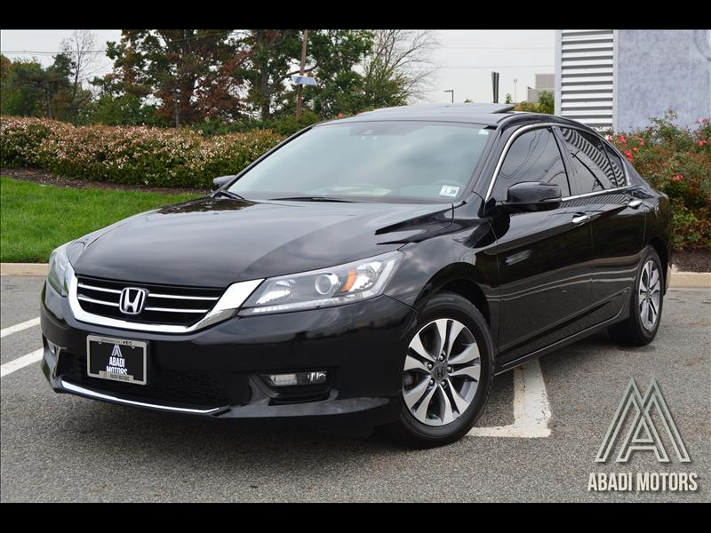 2015 Honda Accord Sedan 4dr V6 Auto EX-L w/Navi