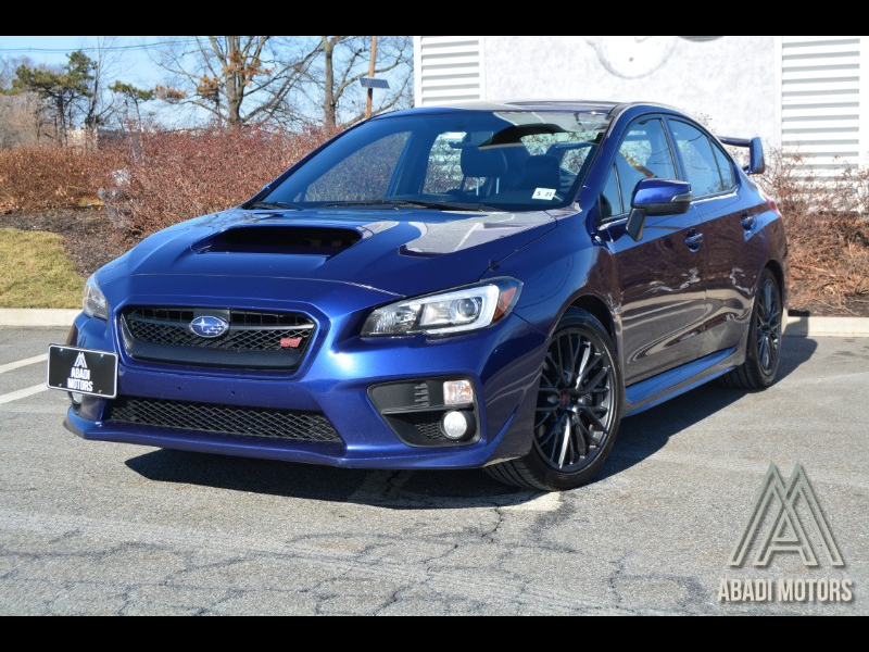 2017 Subaru WRX STI Manual