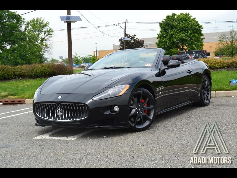 2012 Maserati GranTurismo Convertible Sport MC Sport Line Edition