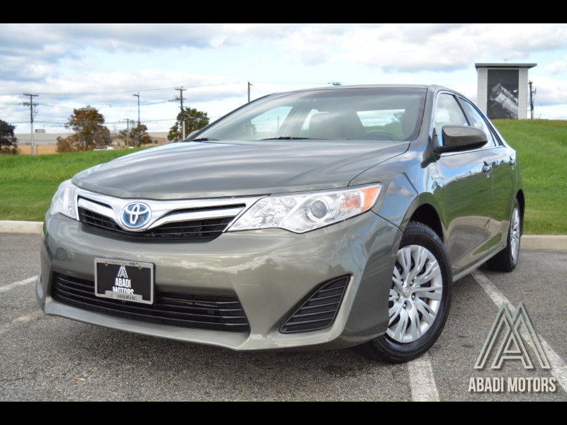 2013 Toyota Camry Hybrid 4dr Sdn XLE (Natl)