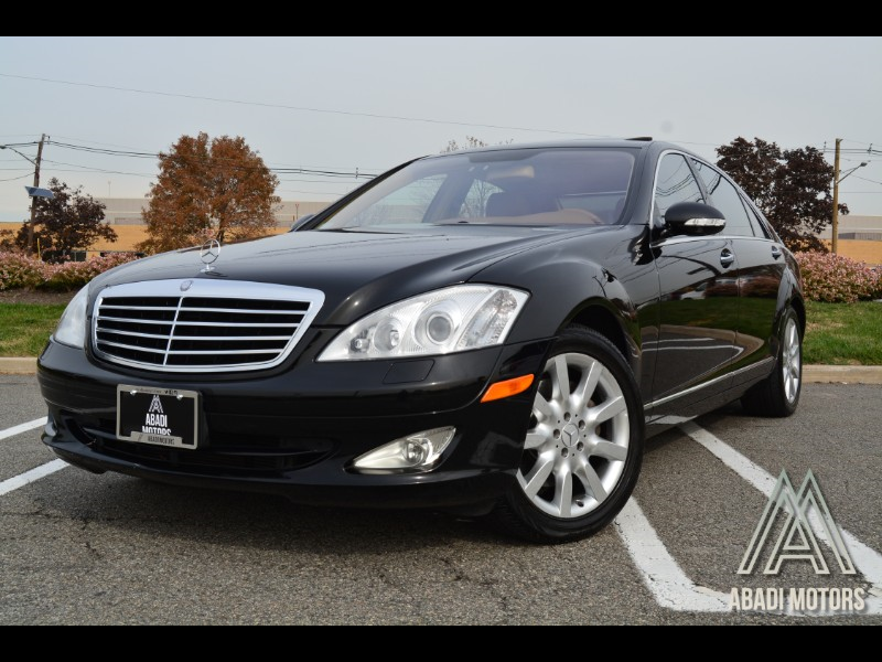 2007 Mercedes-Benz S-Class S550 Sedan V8 RWD