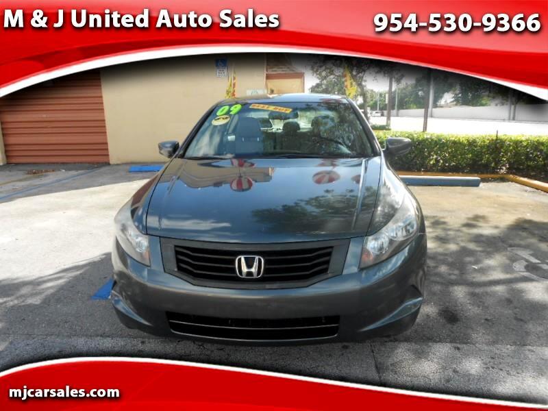2009 Honda Accord SE Sedan