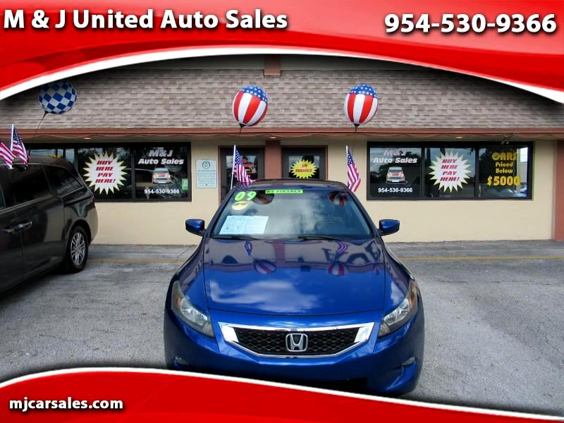 2009 Honda Accord Coupe 2dr V6 Auto EX-L