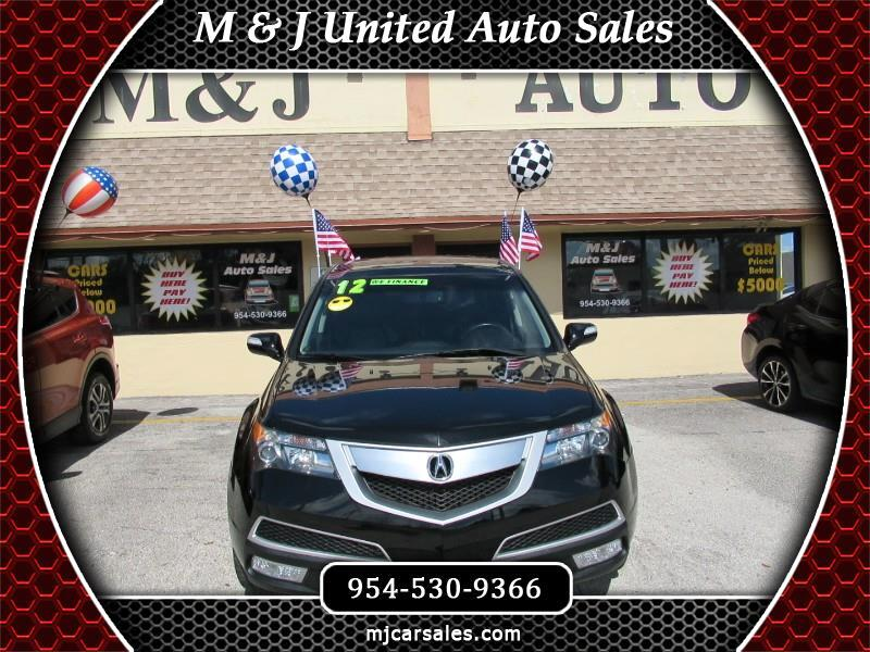 2012 Acura MDX 4dr SUV AT Touring