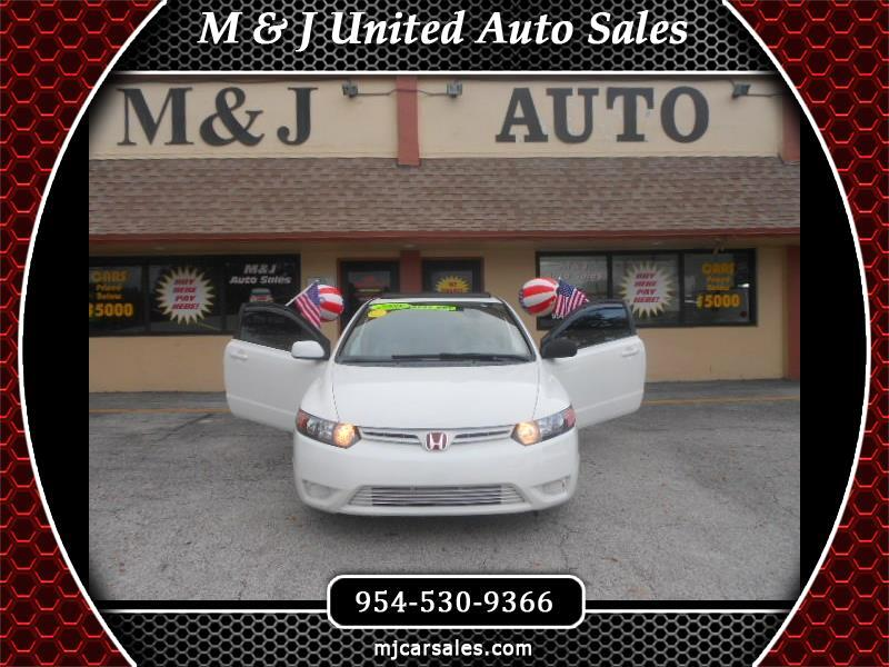 2008 Honda Civic Coupe 2dr CVT EX-L