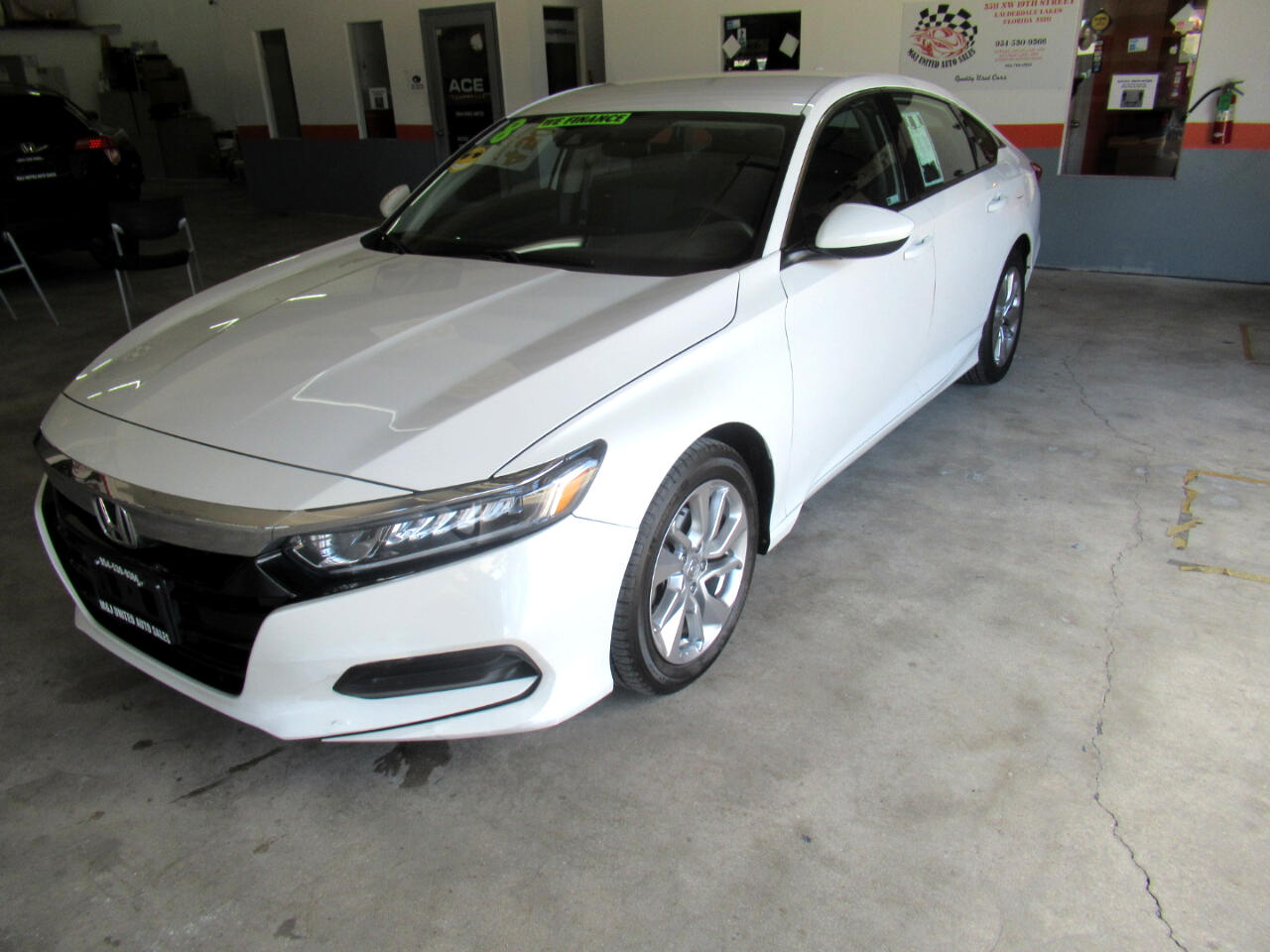 Honda Accord LX CVT 2018