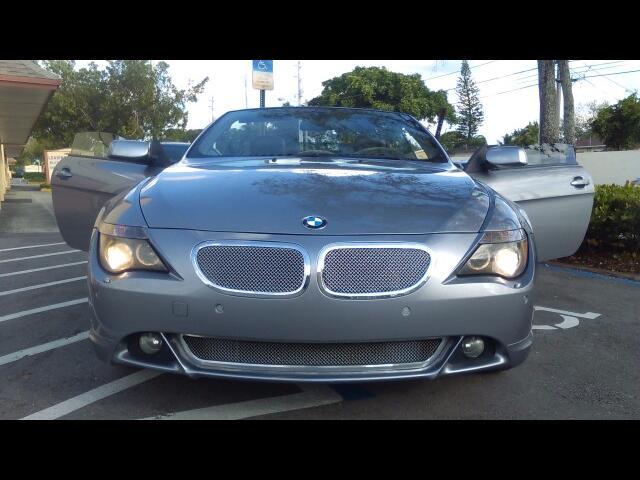 2004 BMW 6-Series 645Ci Convertible