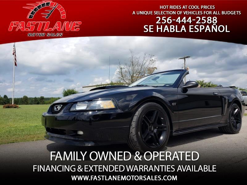 2002 Ford Mustang 2dr Conv GT