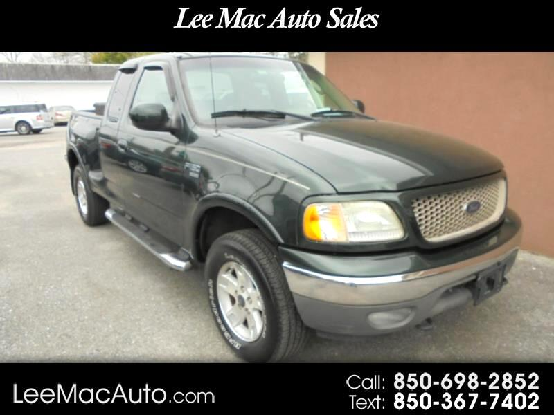 """2003 Ford F-150 4WD SuperCab 133"""" Lariat"""