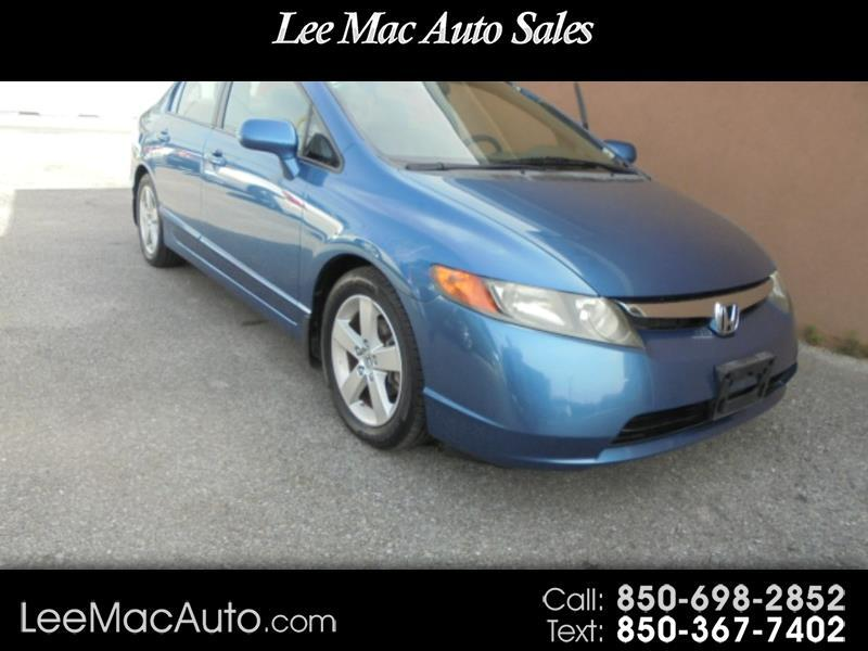 2008 Honda Civic EX Sedan AT with Navigation