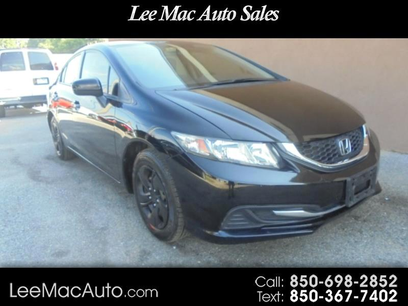 Honda Civic LX Sedan 5-Speed MT 2015