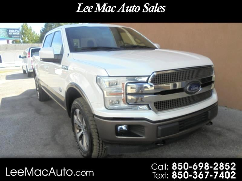 "Ford F-150 4WD SuperCrew 139"" King Ranch 2018"
