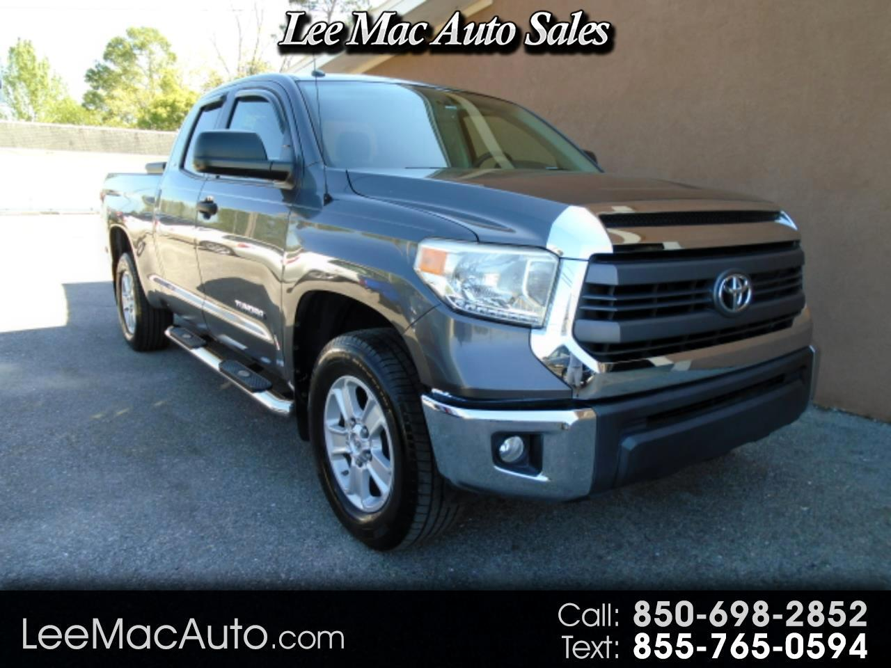 Toyota Tundra 2WD Truck Double Cab 4.6L V8 6-Spd AT SR5 (Natl) 2014