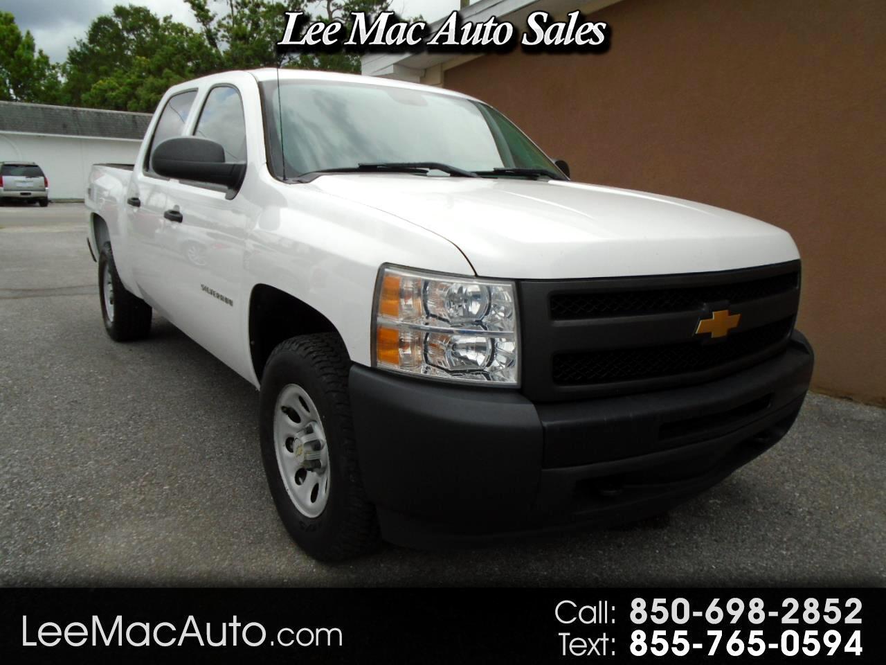 "Chevrolet Silverado 1500 4WD Crew Cab 143.5"" Work Truck 2013"