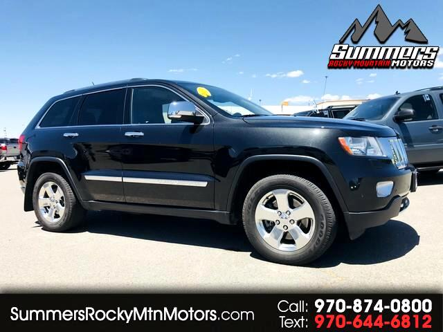 2013 Jeep Grand Cherokee OVERLAND LIMITED