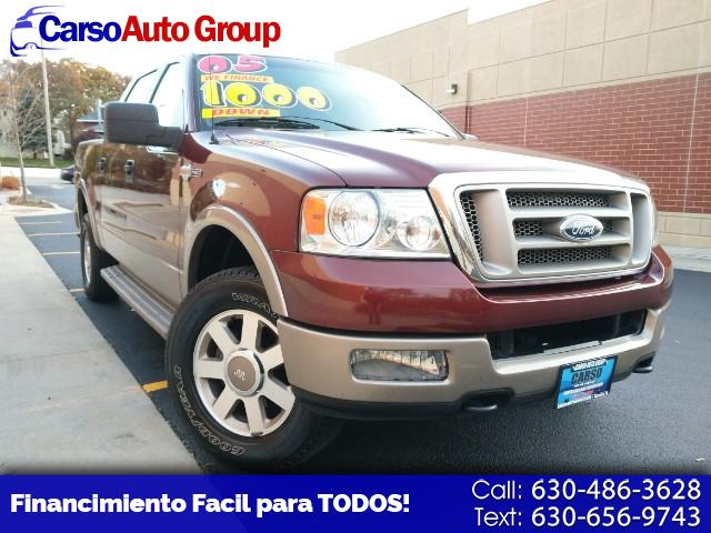 "2005 Ford F-150 SuperCrew Crew Cab 139"" King Ranch"