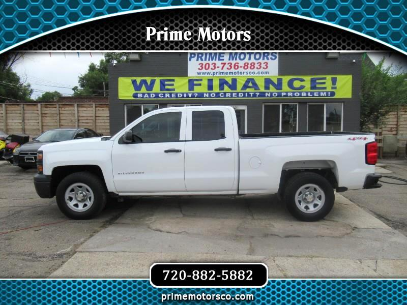 Chevrolet Silverado 1500 1LT Regular Cab Long Box 4WD 2014