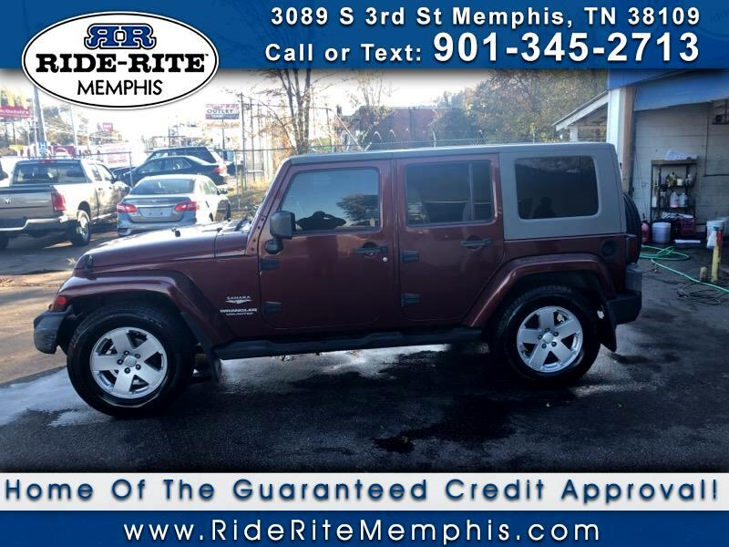 Jeep Wrangler Unlimited Sahara 2WD 2007