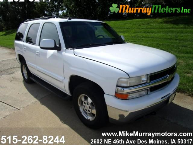 buy here pay here 2003 chevrolet tahoe 4wd for sale in des moines ia 50317 murray motors inc. Black Bedroom Furniture Sets. Home Design Ideas