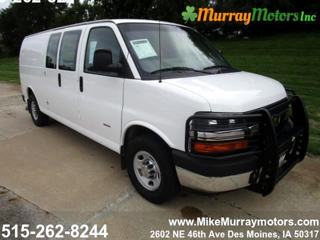 2013 Chevrolet Express 3500 Cargo Extended Diesel