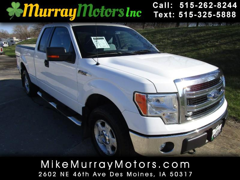 Ford F-150 XLT SuperCab 8-ft. Bed 4WD 2013
