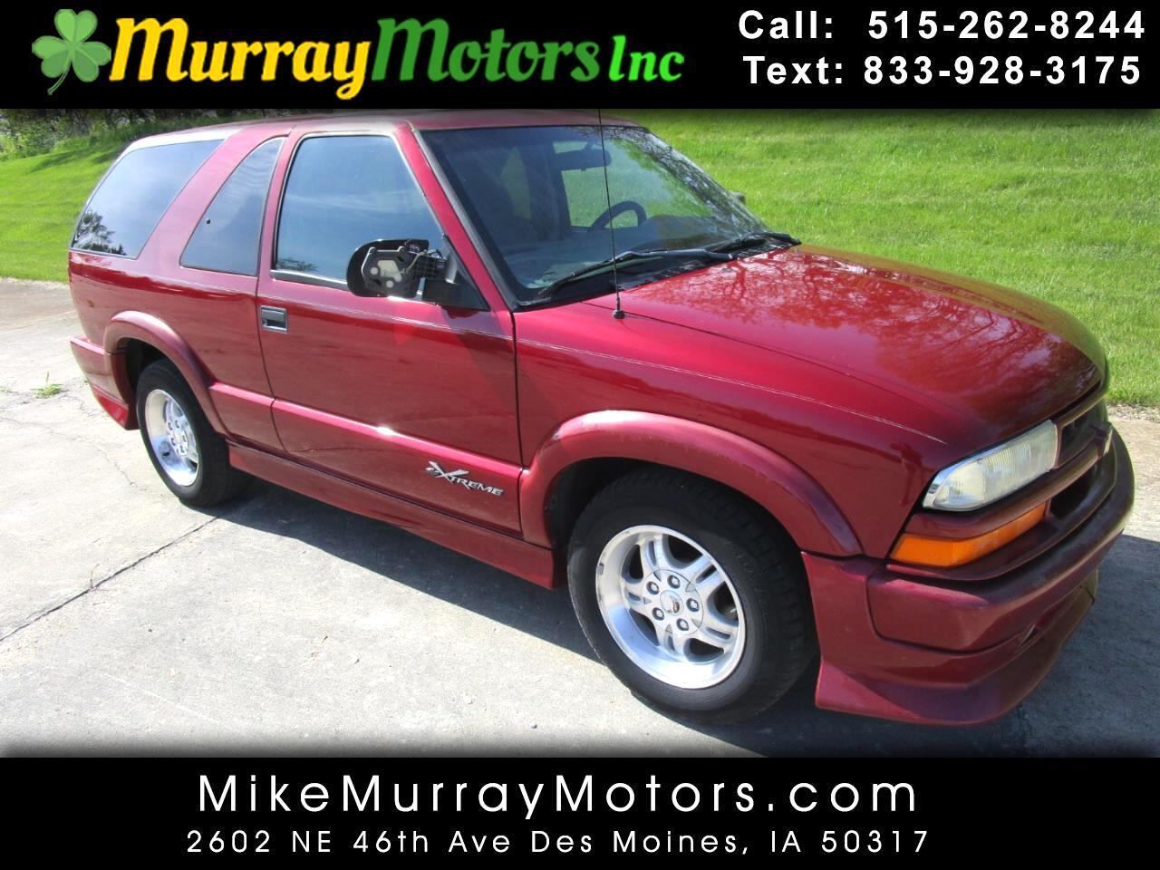 Chevrolet Blazer 2-Door 2WD Xtreme 2002
