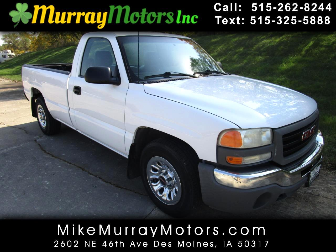 GMC Sierra Classic 1500 Work Truck Long Box 2WD 2007