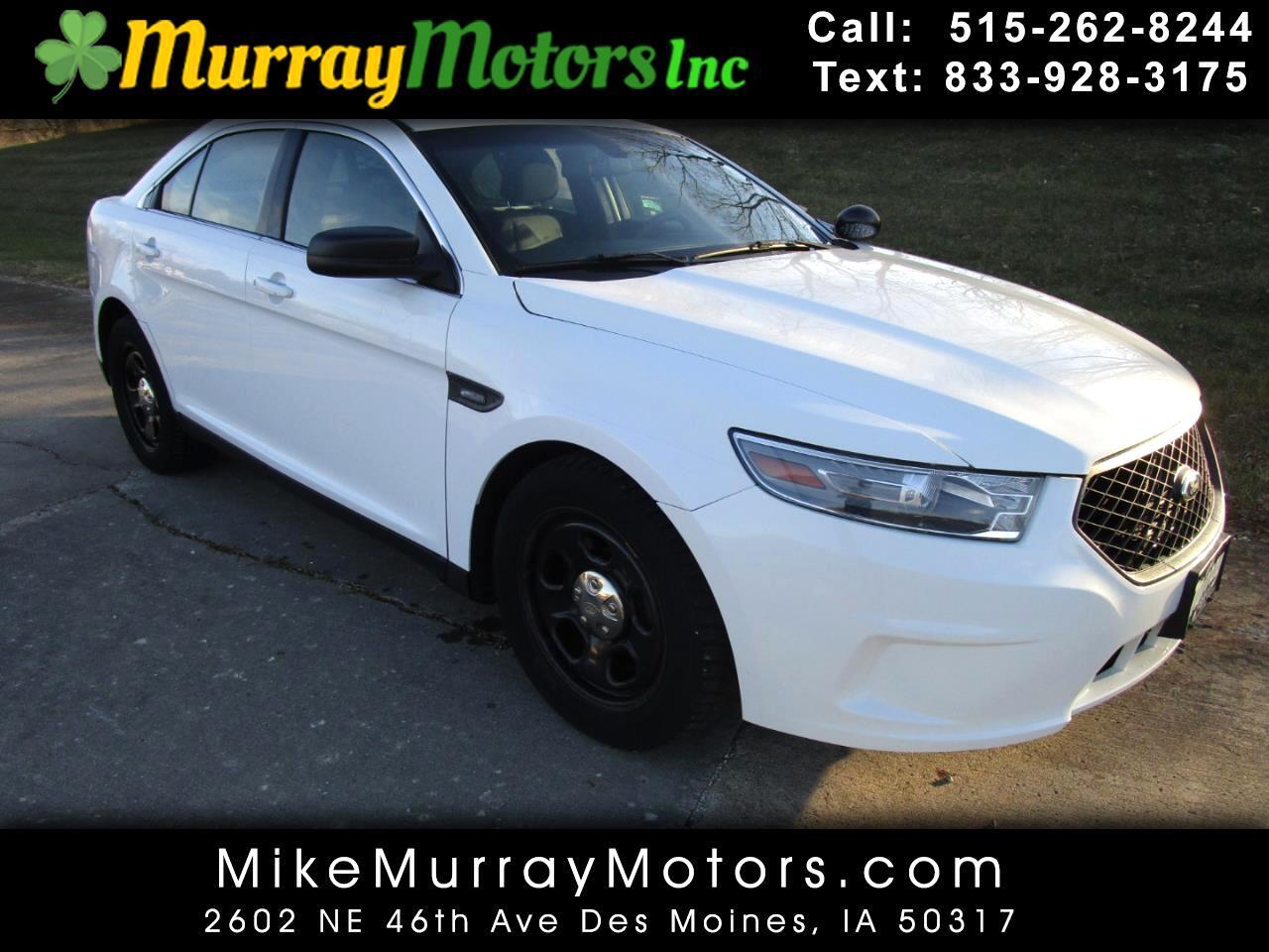Ford Taurus Police AWD 2014