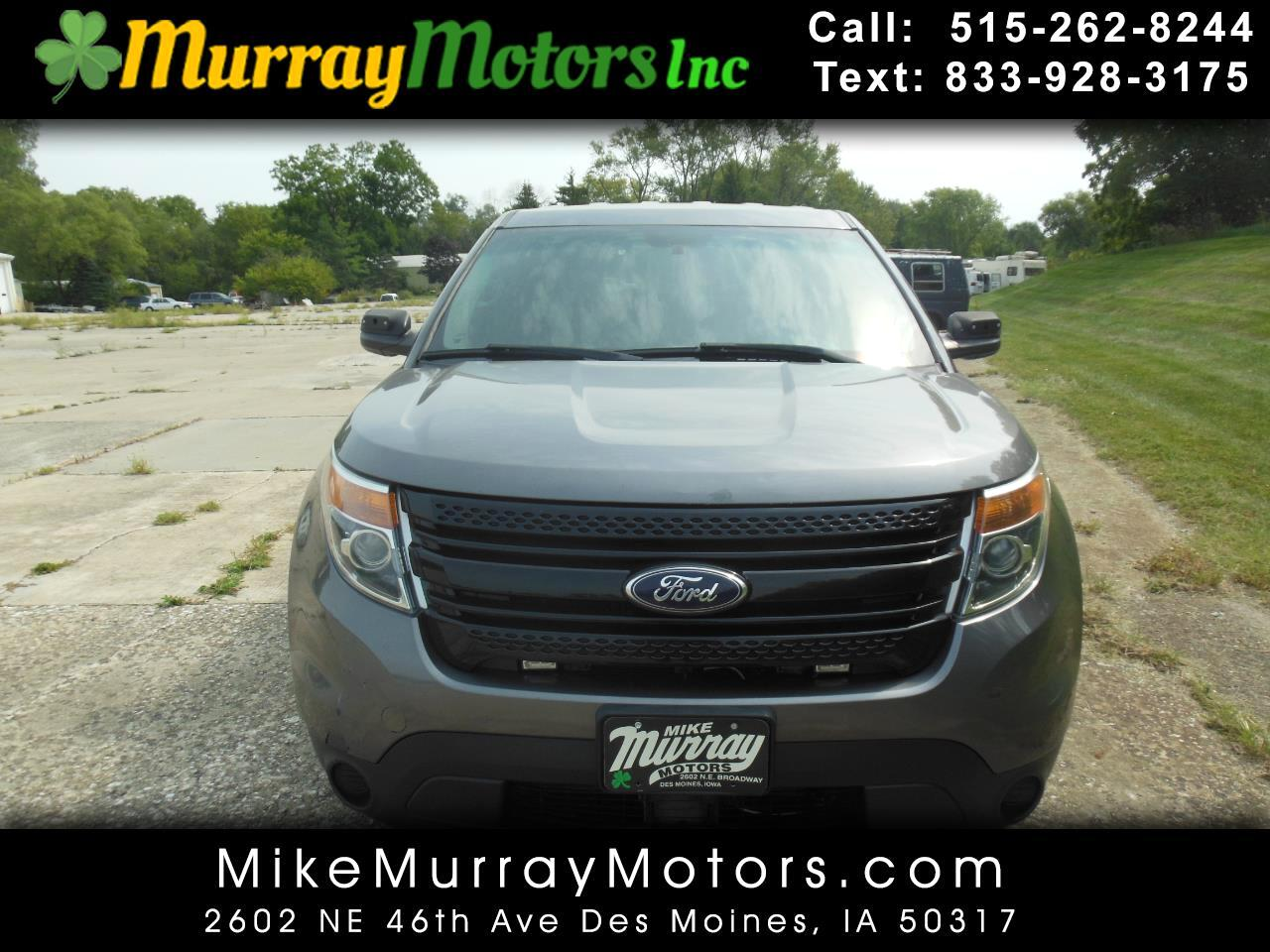 Ford Explorer Police 4WD 2013