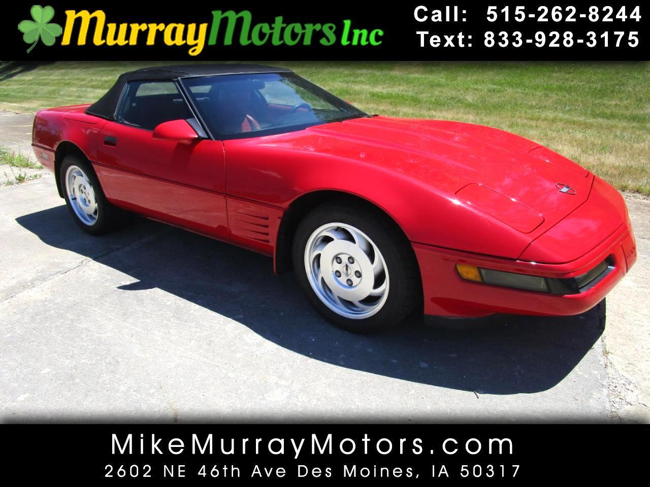 Chevrolet Corvette Convertible 1992