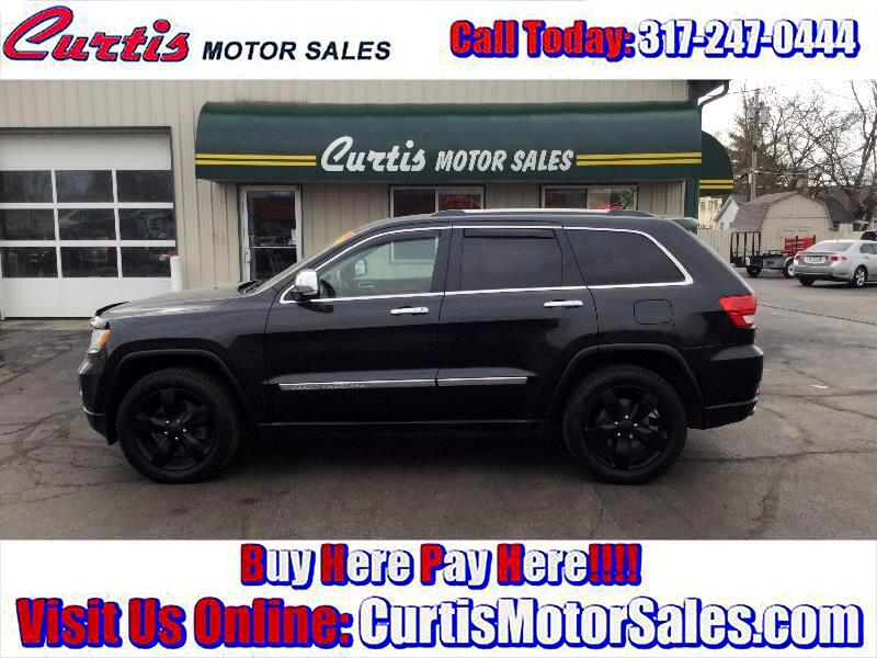 buy here pay here 2012 jeep grand cherokee overland 4wd for sale in indianapolis in 46241 curtis. Black Bedroom Furniture Sets. Home Design Ideas